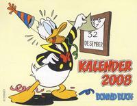 Cover Thumbnail for Donald Duck kalender (Hjemmet / Egmont, 2007 series) #2008