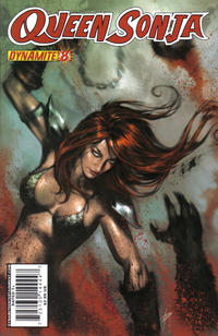 Cover Thumbnail for Queen Sonja (Dynamite Entertainment, 2009 series) #8 [Lucio Parrillo Cover]