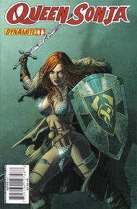 Cover Thumbnail for Queen Sonja (Dynamite Entertainment, 2009 series) #1 [Jackson Herbert Cover]