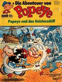 Cover Thumbnail for Die Abenteuer von Popeye (Egmont Ehapa, 1975 series) #12