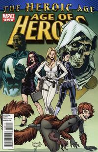 Cover Thumbnail for Age of Heroes (Marvel, 2010 series) #3