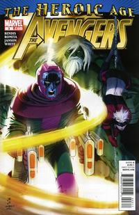Cover Thumbnail for Avengers (Marvel, 2010 series) #3
