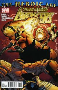 Cover Thumbnail for New Avengers (Marvel, 2010 series) #2