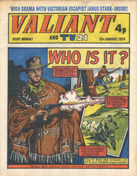 Cover Thumbnail for Valiant and TV21 (IPC, 1971 series) #12th January 1974