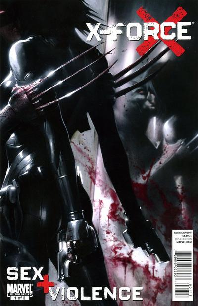 Cover for X-Force: Sex and Violence (Marvel, 2010 series) #1