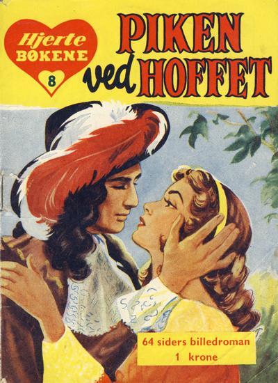 Cover for Hjertebiblioteket [Hjertebøkene] (Serieforlaget / Se-Bladene / Stabenfeldt, 1957 series) #8