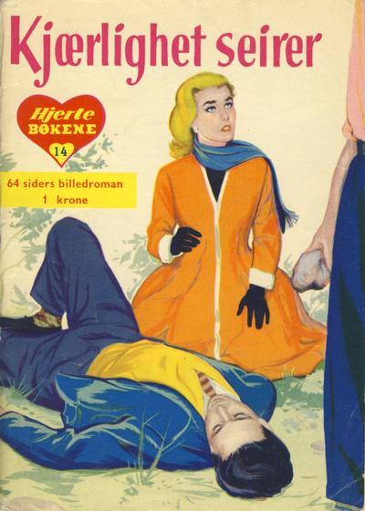 Cover for Hjertebiblioteket [Hjertebøkene] (Serieforlaget / Se-Bladene / Stabenfeldt, 1957 series) #14