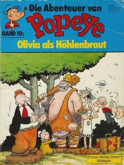 Cover for Die Abenteuer von Popeye (Egmont Ehapa, 1975 series) #10