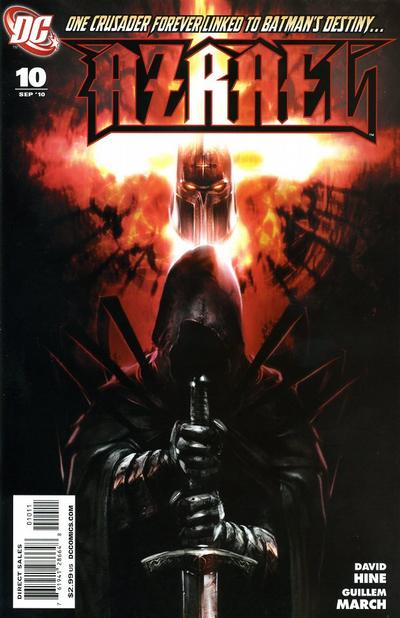 Cover for Azrael (DC, 2009 series) #10