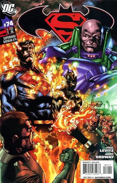 Cover for Superman / Batman (DC, 2003 series) #74 [Direct Sales]