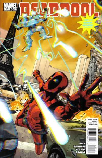 Cover for Deadpool (Marvel, 2008 series) #25