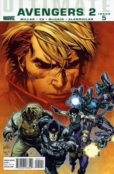 Cover for Ultimate Avengers (Marvel, 2009 series) #11