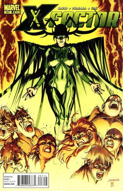 Cover for X-Factor (Marvel, 2006 series) #207