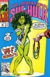 Cover for The Sensational She-Hulk (Marvel, 1989 series) #40 [Direct]