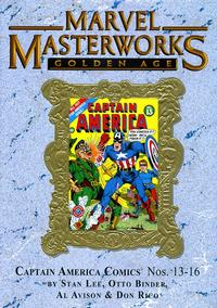Cover Thumbnail for Marvel Masterworks: Golden Age Captain America (Marvel, 2005 series) #4 (138) [Limited Variant Edition]