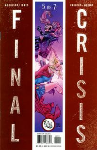 Cover Thumbnail for Final Crisis (DC, 2008 series) #5 [Sliver Cover]