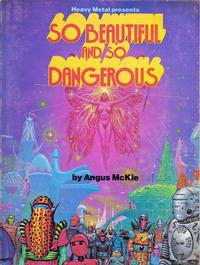 Cover Thumbnail for So Beautiful and So Dangerous (Heavy Metal, 1979 series)