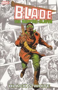 Cover Thumbnail for Blade: Black & White (Marvel, 2004 series)