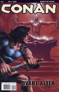Cover Thumbnail for Conan (Bladkompaniet / Schibsted, 1990 series) #4/2010