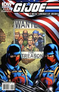 Cover Thumbnail for G.I. Joe: A Real American Hero (IDW, 2010 series) #156 [Cover A]