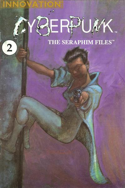 Cover for Cyberpunk: The Seraphim Files (Innovation, 1990 series) #2