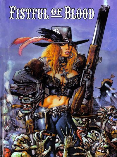 Cover for Fistful of Blood (Heavy Metal, 2002 series)