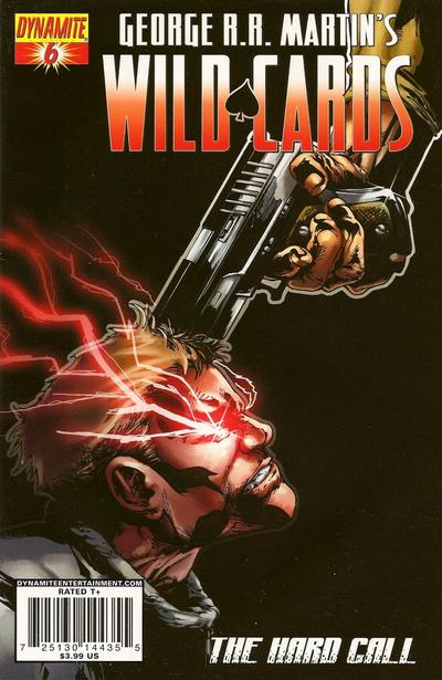 Cover for George R. R. Martin's Wild Cards: The Hard Call (Dynamite Entertainment, 2010 series) #6