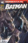 Cover for Batman (Panini Deutschland, 2007 series) #31 [Variant Cover-Edition]
