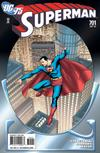 Cover for Superman (DC, 2006 series) #701 [75th Anniversary Variant Cover]