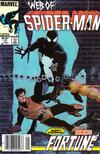 Cover for Web of Spider-Man (Marvel, 1985 series) #10 [Newsstand]