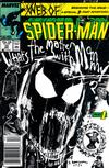 Cover Thumbnail for Web of Spider-Man (1985 series) #33 [Newsstand Edition]