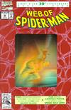 Cover Thumbnail for Web of Spider-Man (1985 series) #90 [Second Printing - Gold Hologram]