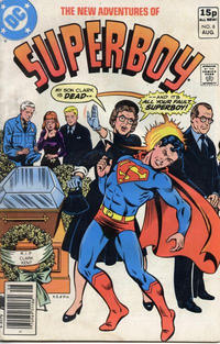 Cover Thumbnail for The New Adventures of Superboy (DC, 1980 series) #8 [British]