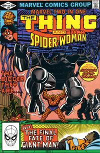 Cover Thumbnail for Marvel Two-in-One (Marvel, 1974 series) #85 [Direct]
