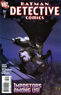 Cover Thumbnail for Detective Comics (DC, 1937 series) #867
