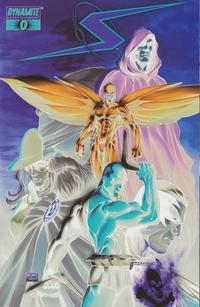 Cover for Project Superpowers (Dynamite Entertainment, 2008 series) #0 [Alex Ross Connecting Cover - Right Side]