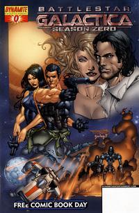 Cover Thumbnail for Battlestar Galactica Season Zero / The Lone Ranger [Free Comic Book Day] (Dynamite Entertainment, 2007 series) #0
