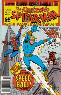 Cover Thumbnail for The Amazing Spider-Man Annual (Marvel, 1964 series) #22 [Newsstand Edition]