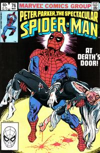 Cover Thumbnail for The Spectacular Spider-Man (Marvel, 1976 series) #76 [Direct Edition]