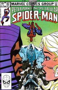 Cover Thumbnail for The Spectacular Spider-Man (Marvel, 1976 series) #82 [Direct Edition]