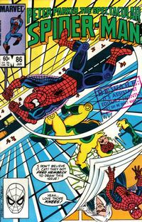 Cover Thumbnail for The Spectacular Spider-Man (Marvel, 1976 series) #86 [Direct Edition]