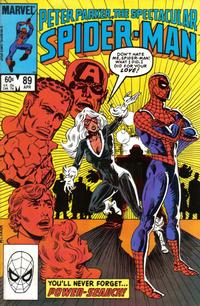 Cover Thumbnail for The Spectacular Spider-Man (Marvel, 1976 series) #89 [Direct Edition]