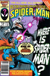 Cover Thumbnail for The Spectacular Spider-Man (Marvel, 1976 series) #117 [newsstand]