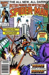 Cover Thumbnail for The Spectacular Spider-Man (Marvel, 1976 series) #118 [newsstand]