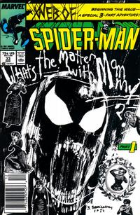 Cover for Web of Spider-Man (Marvel, 1985 series) #33 [Direct Edition]