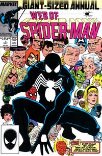 Cover Thumbnail for Web of Spider-Man Annual (Marvel, 1985 series) #3 [Direct]