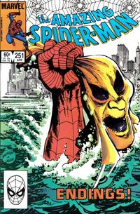 Cover Thumbnail for The Amazing Spider-Man (Marvel, 1963 series) #251 [Direct Edition]