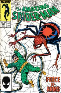 Cover for The Amazing Spider-Man (Marvel, 1963 series) #296 [Newsstand]