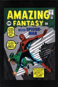 Cover Thumbnail for Amazing Fantasy Vol. 1 No. 15 [Spider-Man Classics Reprint] (Marvel, 2001 series)