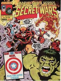 Cover Thumbnail for Marvel Super Heroes Secret Wars (Marvel UK, 1985 series) #2